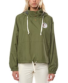 Juniors' Portland Coat Hooded Rain Jacket