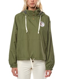 O'Neill Juniors' Portland Coat Hooded Rain Jacket