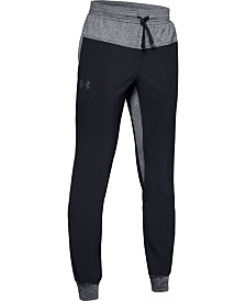Under Armour Big Boys Woven Warm-Up Jogger Pants