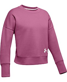 Under Armour Big Girls Unstoppable Fleece Sweatshirt