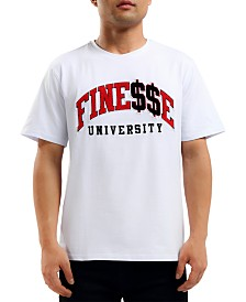 Hudson NYC Men's Finesse U Graphic T-shirt