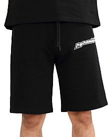 Black Pyramid Men's Core 3D Rubber Patch Track Shorts