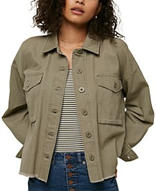 Juniors' Smithson Cotton Canvas Jacket