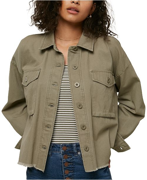 O'Neill Juniors' Smithson Cotton Canvas Jacket
