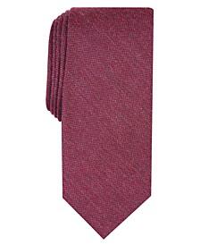 Men's Dunbar Solid Skinny Tie, Created for Macy's