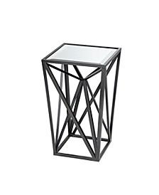 Zee Angular Mirror Accent Table