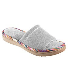 Women's Heathered Jersey Becca Slide