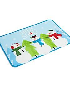 Snowman Toss Placemat
