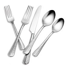 Tomodachi Nyssa Satin 112-PC Flatware Set, Service for 12