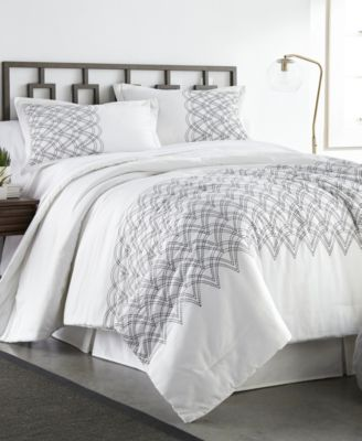 Modern Glam 3 Piece Comforter Set - King