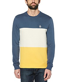 Men's Colorblock Fleece Sweater