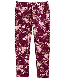 Toddler Girls Floral-Print Leggings, Created for Macy's