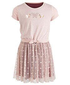 Toddler Girls Butterfly Dot Dress, Created for Macy's
