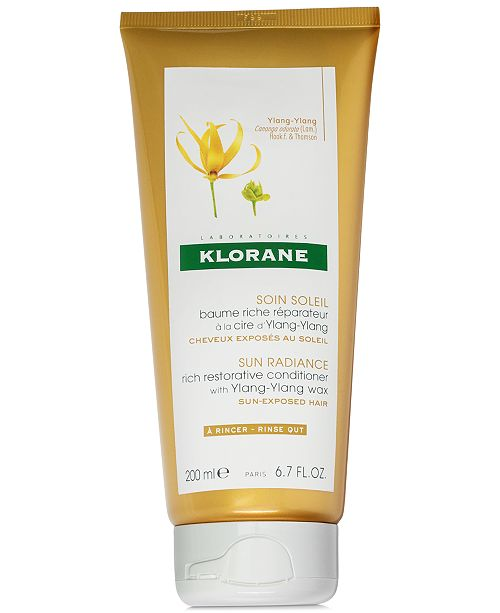 Klorane Rich Restorative Conditioner With Ylang-Ylang Wax, 6.7-oz.