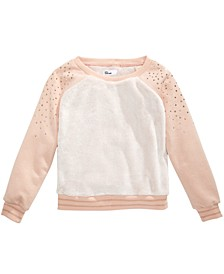 Big Girls Sparkle Sweatshirt, Created For Macy's