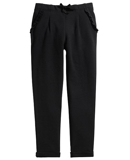 Epic Threads Big Girls Ruffled Tapered Pants, Created For Macy's