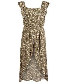 Epic Threads Big Girls Printed Walkthrough Romper Dress, Created For Macy's
