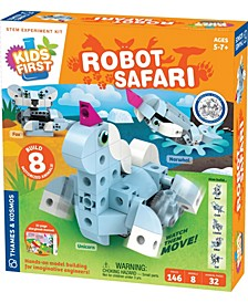 Kids First - Robot Safari - Introduction To Motorized Machines