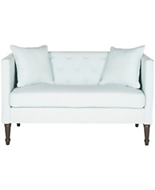 Sarah Tufted Settee, Quick Ship