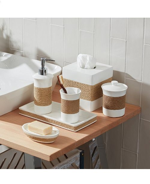 Roselli Trading Company Castaway Bath Accessories Collection