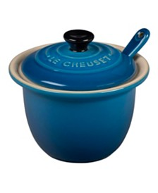Le Creuset 6.75-Oz. Condiment Pot with Spoon