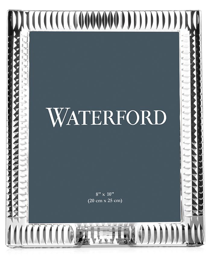 """Waterford - Lismore Diamond 8"""" x 10"""" Picture Frame"""