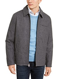 Men's Wool Open Bottom Jacket