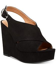 Greyson Platform Wedge Sandals