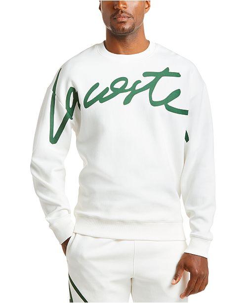 Lacoste Men's New Script Logo Sweatshirt
