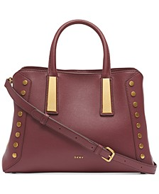 Ewen Pebble Leather Satchel, Created for Macy's