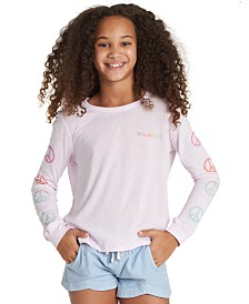 Billabong Big Girls Peace-Print T-Shirt