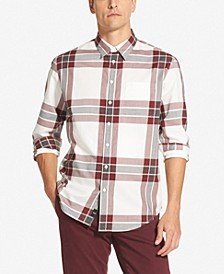 Men's Large Box Plaid Shirt