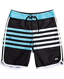 Quiksilver Big Boys Everyday Grass Roots Striped Swimsuit