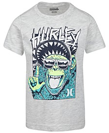 Little Boys Monkey-Print Cotton T-Shirt
