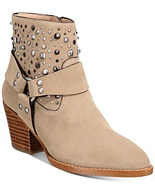 Women's Pia Studded Western Booties
