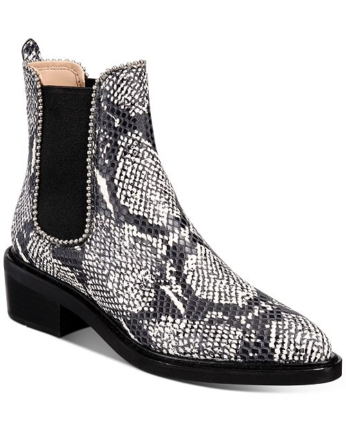 COACH Women's Bowery Beadchain Chelsea Booties