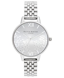 Olivia Burton Women's Stainless Steel Bracelet Watch 34mm
