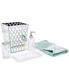 Kate Spade New York Fern Trellis Bath Accessories Collection