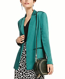 I.N.C. Satin Open-Front Blazer, Created for Macy's