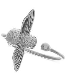 Bee Three-Dimensional Cuff Ring