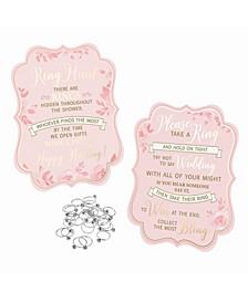 Bridal Shower Ring Game 25 Rings