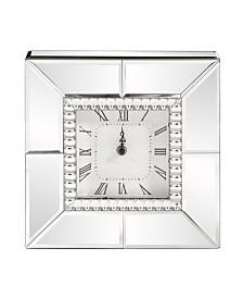 Howard Elliott Mirrored Table Clock
