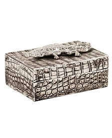 Crocodile Texture Decorative Box