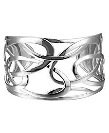 Design Cuff Bracelet in Sterling Silver