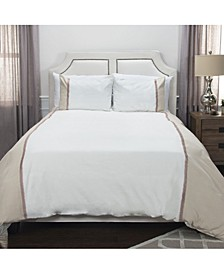 Wilmington Mill King 3 Piece Duvet Set