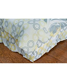 Flowers Twin Bed Skirt