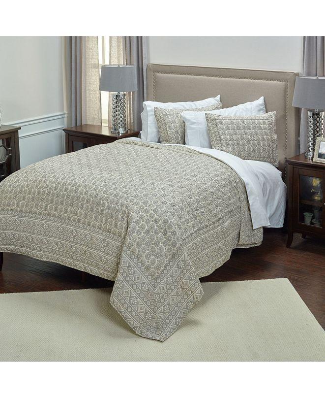 Rizzy Home Riztex USA Pierce Queen Quilt