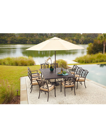 Kingsley Outdoor Dining Collection Furniture Macy 39 S