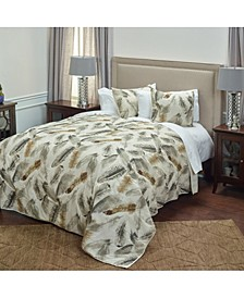 Riztex USA Feathered Nest King Quilt