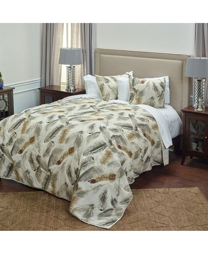Rizzy Home Riztex USA Feathered Nest King Quilt